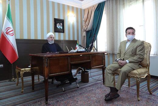 الرئيس روحاني : سيتم تخصيص اعتمادات مالية لمواجهة السيول والآفات في البلاد