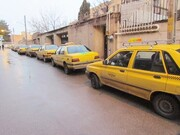 کاهش ۸۰درصدی فعالیت تاکسیرانی در قزوین