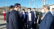 بازدید رئیس کل دادگستری استان البرز از مبادی ورودی طالقان