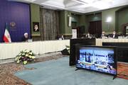 جزئیات ویدئو کنفرانس روحانی با استانداران و روسای بخشهای درمانی چهار استان کشور