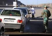 ۲۷هزار و۲۰۰مورد تب سنجی و ضد عفونی خودرویی توسط نیروهای قرارگاه ارتش غرب کشور