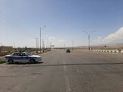 تردد در جادههای فارس ۷۵ درصد کاهش یافت