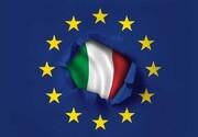 به آتش کشیدن پرچم اتحادیه اروپا توسط کاربران ایتالیایی/عکس