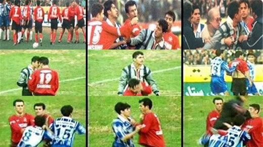 ببینید   زشتترین صحنههای سندروم دستان بیقرار در فوتبال ایران که امکان انتشار دارند!