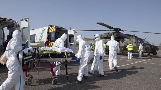 مبتلایان به کرونا در فرانسه به آلمان و سوئیس منتقل شدند