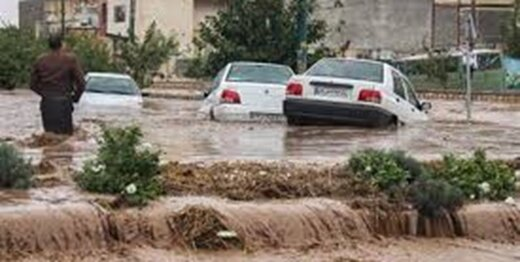 جان باختن ۴ نفر در استان فارس به دلیل سیل/ قطع آب و برق در چند روستا