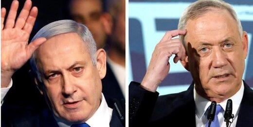 اختلاف نتانیاهو و گانتز بر سر تشکیل کابینه فراگیر