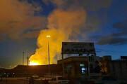 ببینید | اولین ویدیو از انفجار در خط صادرات گاز ایران به ترکیه در شهر مرزی ماکو  بازرگان