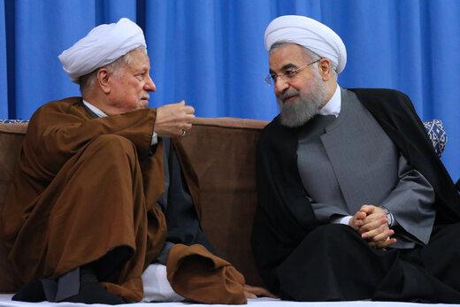 تصویری دیدنی از آیتالله هاشمی و حسن روحانی با لباس نظامی