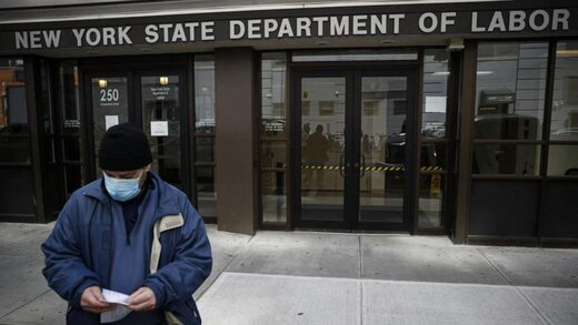 کرونا نرخ بیکاری را در آمریکا به ۱۵ درصد افزایش میدهد