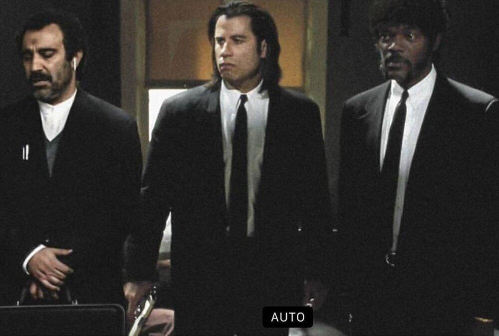ببینید | نقی معمولی کنار جان تراولتا و ساموئل ال.جکسون در پالپفیکشن!