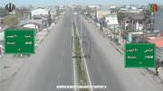 ببینید | وضعیت جاده انزلی به رشت در روز سیزده بدر کرونایی