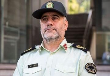 رئیس پلیس تهران: آزادسازی زندانیان کار پلیس را سختتر کرد؛ خروج از شهرها ممنوع شد