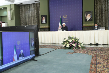روحانی: قرنطینه چینی در ایران قابل اجرا نبود/روند ابتلا به کرونا نزولی شد