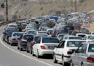 وضعیت ترافیک جاده های کشور در روز سیزده فروردین