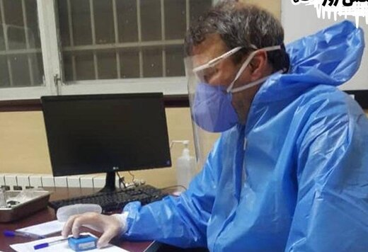 دشمن شماره یک کیروش در حال ویزیت بیماران کرونایی/عکس
