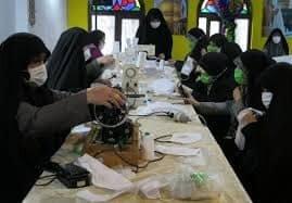 حدود ۲۰۰۰ نفر در قرارگاه مردمی یحیی بن موسی الکاظم (ع) سمنان فعالیت دارند