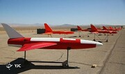 این پهپاد ایرانی، استاد جنگ هوایی است /نمونه مهندسی معکوس شده پهپاد اسکن ایگل را بشناسید+عکس