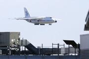 ببینید | هواپیمای حامل کمکهای پزشکی روسیه به آمریکا در فرودگاه نیویورک!