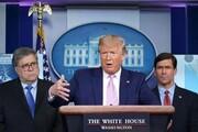ببینید | پرسشهای صریح یک خبرنگار از رئیسجمهور آمریکا درباره تحریمها علیه مردم ایران و تداوم گروکشی کرونایی ترامپ برای مذاکره!