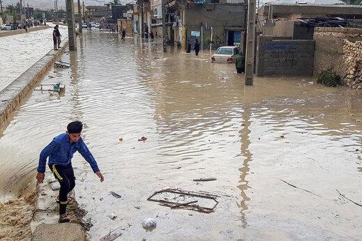 ببینید | نجات روستایی که یک هفته در محاصره سیل جنوب کرمان بود