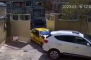 ببینید | تصادف عجیب و تلخ یک تاکسی در خیابان سمیه تهران