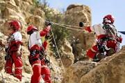 نجات دو طبیعت گرد در ارتفاعات روستای مورود جاده کرج -چالوس