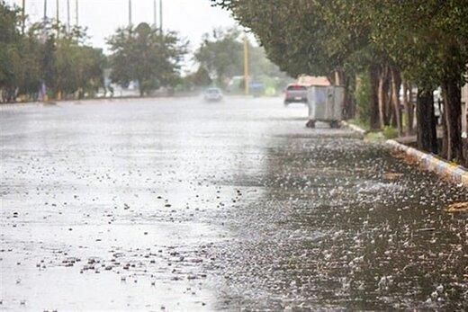 بارندگیهای اخیر قزوین بدون حادثه بود