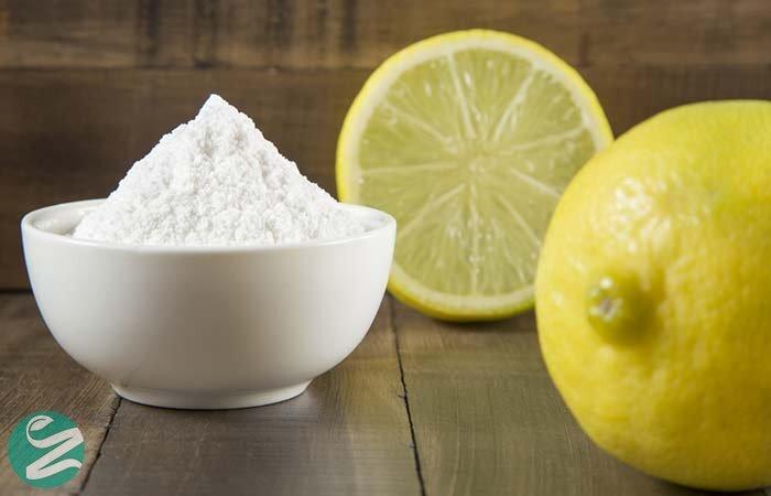 جوش شیرین و آب لیمو برای سفید کردن دندان