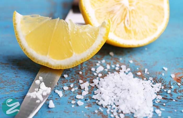 نمک و آب لیمو برای سفید کردن دندان