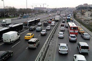ببینید | ترافیک نگران کننده بزرگراه شهید همت / مردم خطر کرونا را فراموش کردند؟