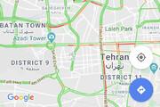 ببینید | تصویر گوگل از ترافیک سنگین تهران و فاجعه ای در راه