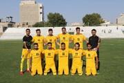 دومین برد تیم قعرنشین ۹۰ در لیگ دسته یک فوتبال