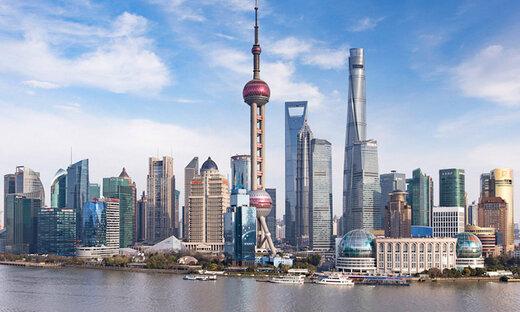 شانگهای محور توسعه شرق پایه
