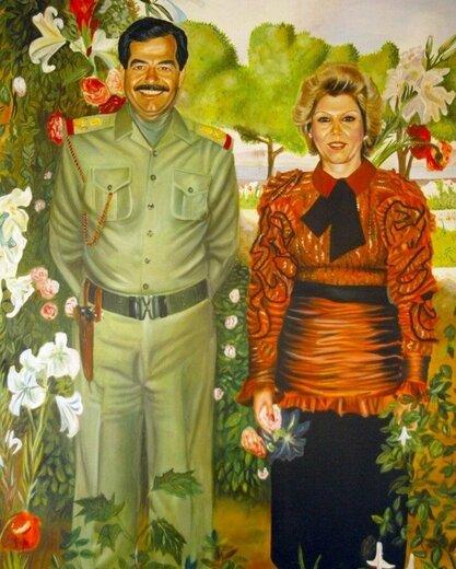 زن اسرار آمیز زندگی صدام