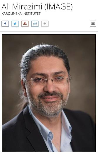 علی میرعظیمی پزشک و میکرو بیولوژیست جوان ایرانی