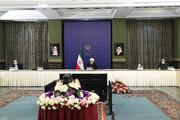 اظهارات روحانی درباره زمان آغاز فعالیت مدارس و دانشگاهها و حمل و نقل بین شهری