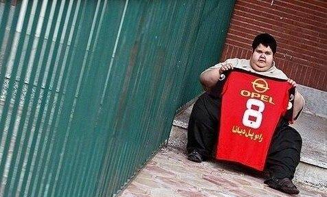 هوادار معروف پرسپولیس و عاشق علی کریمی درگذشت/عکس