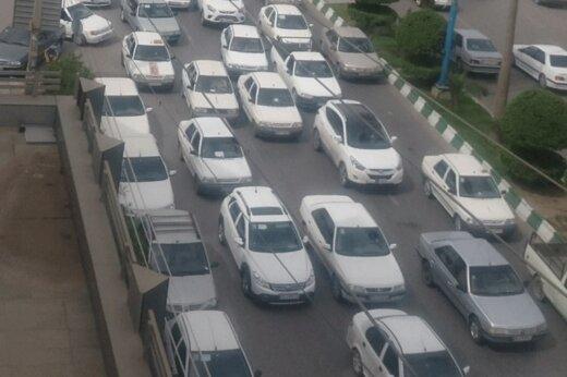 ببینید   وضع ترافیک امروز تهران در چند مسیر اصلی