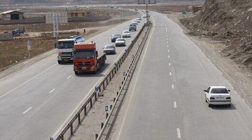 کاهش ۵۶ درصدی تردد خودرو در جادههای آذربایجانشرقی