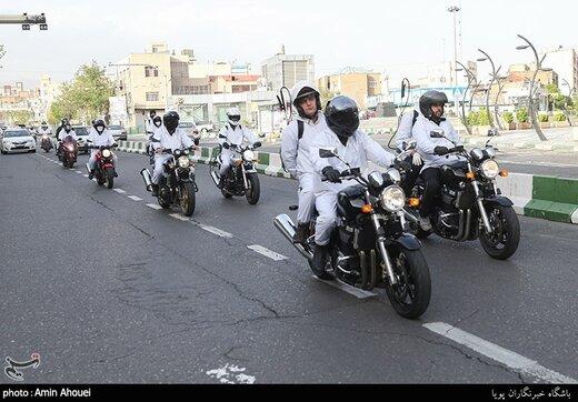 مانور بیولوژیک تیم موتور سواران سپاه محمدرسول الله(ص)