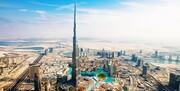 عملیات احداث بلندترین ساختمان جهان در دبی متوقف شد