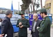 اهدای ۵ هزار مواد ضدعفونی کننده از طرف اطلاعات سپاه به بخش درمانی گلستان