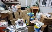 محموله بزرگ کالای بهداشتی احتکار شده در مشهد کشف شد