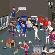 ستارههای فوتبال اروپا را در قرنطینه ببینید!