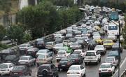 ترافیک صبحگاهی بزرگراههای پایتخت در ۱۹ فروردین ماه