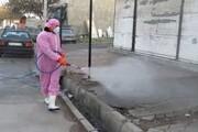 گندزدایی محلات جنوبی شیراز