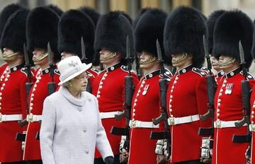 شمایل جدید گارد سلطنتی انگلیس/عکس