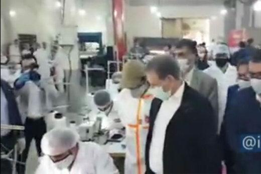 ببینید   افتتاح کارخانه تولید ماسک با حضور معاون اول رییس جمهور
