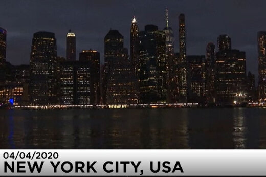 ببینید | بلایی که کرونا سر نیویورک و خیابانهای معروفش آورد!